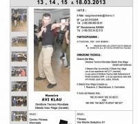 הזמנה לסמינר גיקאדו קרב מגע באיטליה